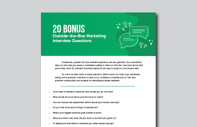 Common Marketing Interview Questions 200 Powerful Marketing Interview Questions To Hire The Best Team