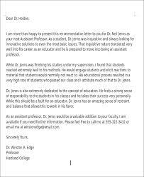 Sample Teacher Recommendation Letter New 48 Sample Teaching Position Recommendation Letters Sample Templates