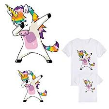 Unicorn Patches Iron On Clothes Deco Heat Transfer ... - Amazon.com