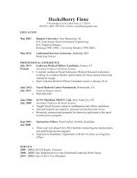 Stanford Resume Template Law School Resume Examples Online Format