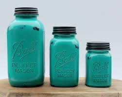 Green Canister Sets Kitchen Bathroom Canister Etsy