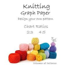 Knitting Graph Paper Design Your Own Chart Ratios 2 3 4 5