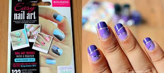 Makeup And Fashion Freak: Ombre Nails With Bourjois Easy Nail Art Kit