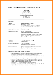 Resume For Science Graduate Computer Science Graduate Resume