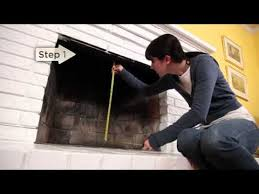 Fireplace Door Size Chart Installation Pleasant Hearth Fireplace Glass Door Youtube