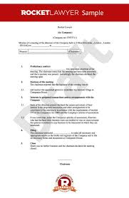 board of directors minutes of meeting template best photos of board meeting minutes template sample board meeting