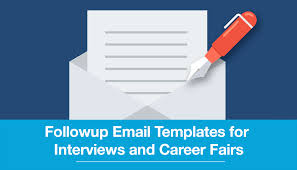 Follow Up Email Templates For Interviews And Career Fairs | Kredible ...