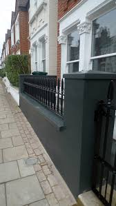 Small Picture Balham Front Garden London Company black garden wall London