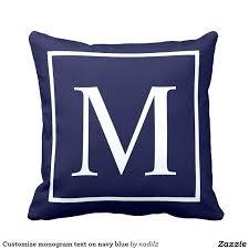 best outdoor pillows customize monogram text on navy blue outdoor pillow outdoor lumbar pillows target