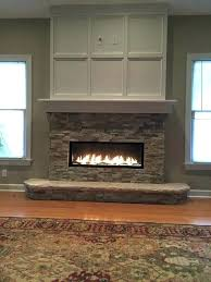 charming electric linear fireplace linear fireplace inserts