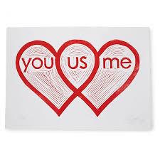 Artist Venn Diagram Heart Venn Diagram Linocut Print Romantic Art Uncommongoods