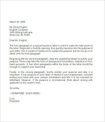 Business Letters Examples Template Classy Business Form Letter Example Business Form Templates