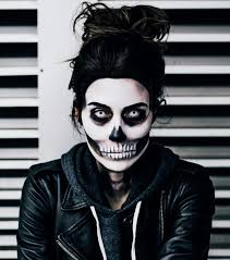 this step by step skull makeup tutorial is absolutely incredible
