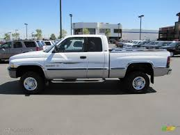 Bright White 1999 Dodge Ram 2500 SLT Extended Cab 4x4 Exterior ...