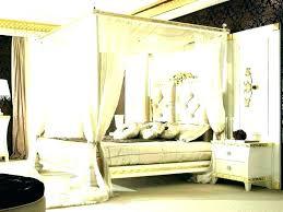 Canopy Bed Frame Queen Size For Sale Full White Fu – konekta.info