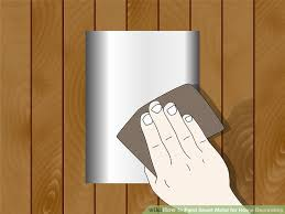 image titled paint sheet metal for home decorating step 1
