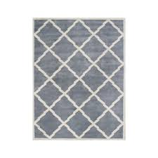 Small Picture Shop for Alliyah Handmade Bluish Grey New Zealand Blend Wool Rug
