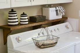 an easy diy project to hide that ugly washer box