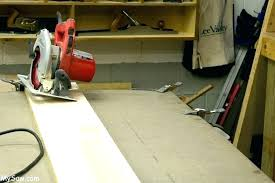 cut laminate countertop miter cutting s degree angle mitre with circular saw how to