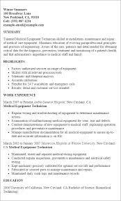 Hospital Equipment Repair Sample Resume Biomedical Repair Sample Resume shalomhouseus 2