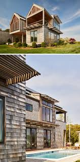 shingle siding house. 13 Examples Of Modern Houses With Wooden Shingles // This New York Home Shingle Siding House E