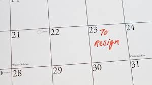 Teacher Resignation Dates And Notice Period Tes