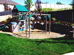 Small Picture love the simplicity of this child friendly garden garden design