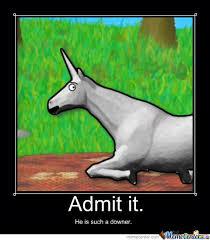 Charlie The Unicorn. by mrepicmanlyman - Meme Center via Relatably.com