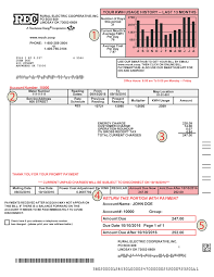 how to read your billing statement