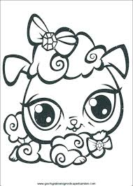 Coloring Pages Littlest Pet Shop Little Pet Shop Coloring Pages