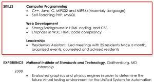resume example for skills section resume skills section example musiccityspiritsandcocktail com