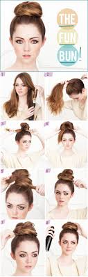 How Todo Hair Style in a rush forget the brush kristin ess hair style and bun 1927 by wearticles.com
