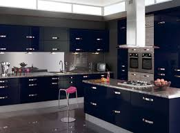 High Gloss Kitchen Floor Tiles Kitchen Modern Cottage Blue Kitchen Cabinets And Decorations