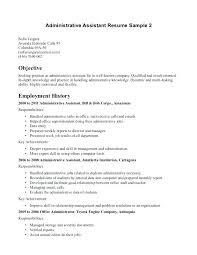 Medical Assistant Resume Objectives Medical Administrative Assistant Resume Sample Medical Assistant 73