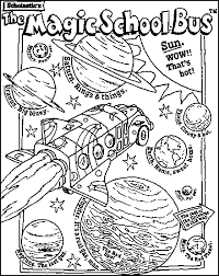 Small Picture Magic school bus coloring page Ethans Birthday Pinterest