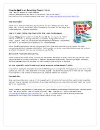 Amazing Cover Letter Creator For Mac Amazing Cover Letter Creator