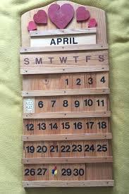 19 best perpetual calendars images on perpetual calendar wooden perpetual wall calendar