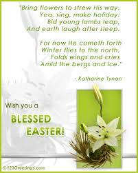 Beautiful Easter Poems Quotes Best of Inspirational Easter Poems