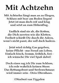 Gedicht Zum 18geburtstag Was Mir Gefällt 18 Geburtstag Sprüche