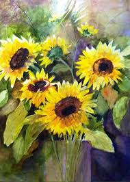 A Sunny Day Painting by Polly Barrett