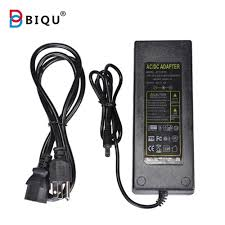 Led Light Power Cable Adapter Dc 12v 10a 120w 50 60hz Power Supply Adapter With Eu Us Au Uk Cord Cable For Led Light Lcd Monitor Cctv Biqu Magician
