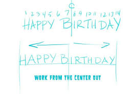 make your own birthday banner make a birthday banner