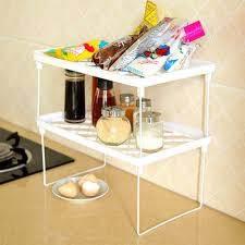 Kitchen Shelf Organizer Online Get Cheap Stackable Shelf Organizer Aliexpresscom