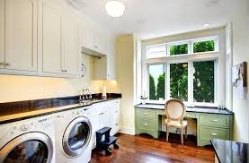 N Laundry Room Office Bright Modern Small  Combo