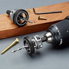 set of 2 drill countersinks with rotating depth stop by garrett wade