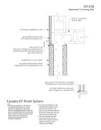 Insulated Concrete Form ICF EIFS Details And Specifications - Insulating block walls exterior