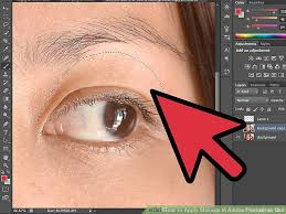 image led apply makeup in adobe photo cs3 step 2