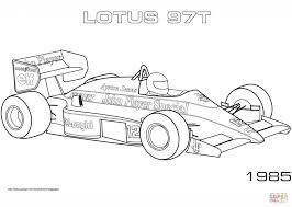 1985 Lotus 97t Kleurplaat Gratis Kleurplaten Printen Within
