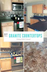laminate kitchen countertop paint makeover