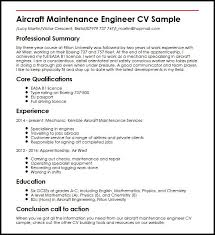 maintenance resume samples aircraft maintenance engineer cv sample myperfectcv
